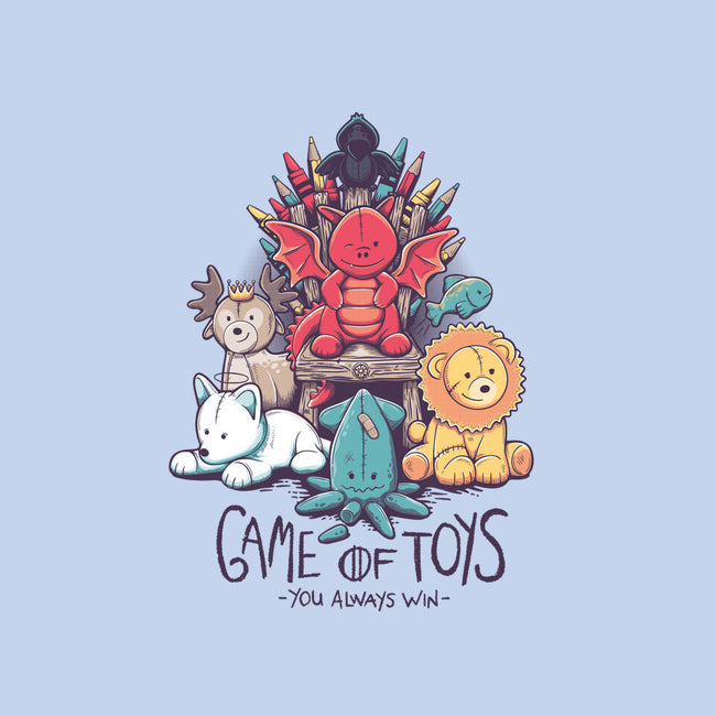 Game of Toys-womens basic tee-victorsbeard