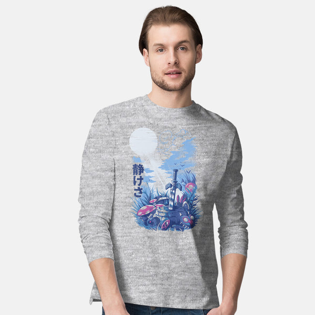 Games in the Woods-mens long sleeved tee-ilustrata