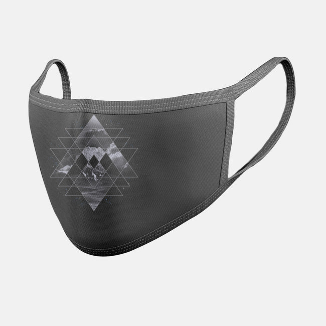 Geometric Nature-unisex basic face mask-expo