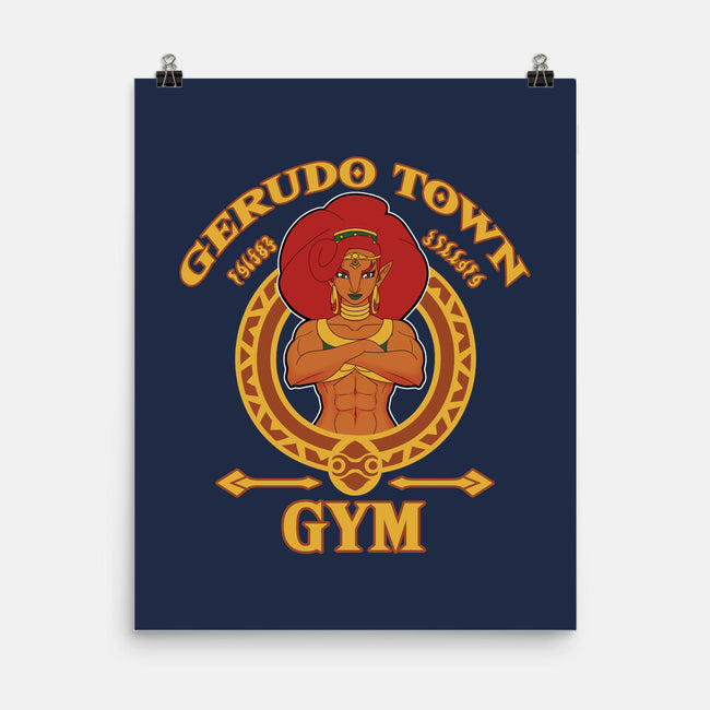 Gerudo Town Gym-none matte poster-bubbleknight