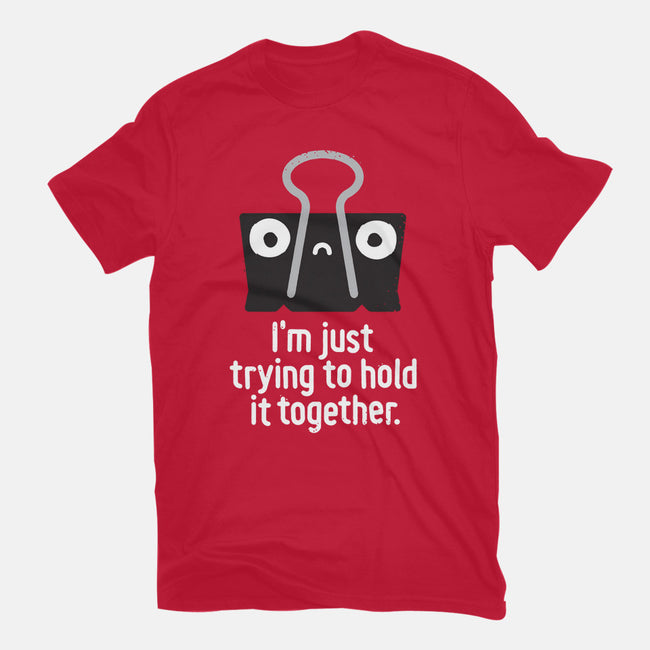 Get a Grip-mens heavyweight tee-David Olenick