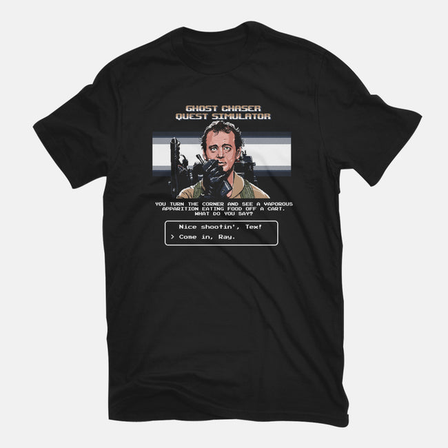 Ghost Chaser Quest Simulator-mens heavyweight tee-rustenico