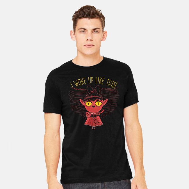Ghoul Morning-mens heavyweight tee-ppmid