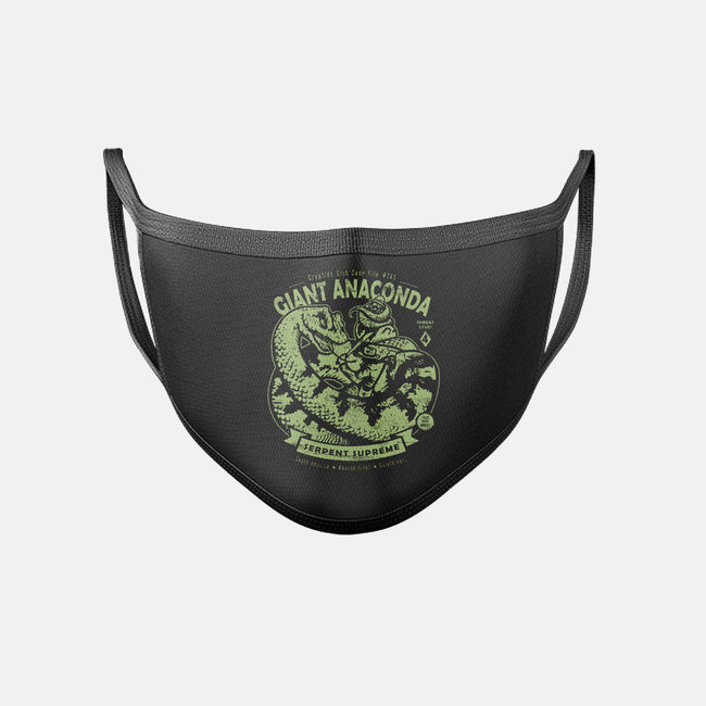Giant Anaconda-unisex basic face mask-heartjack