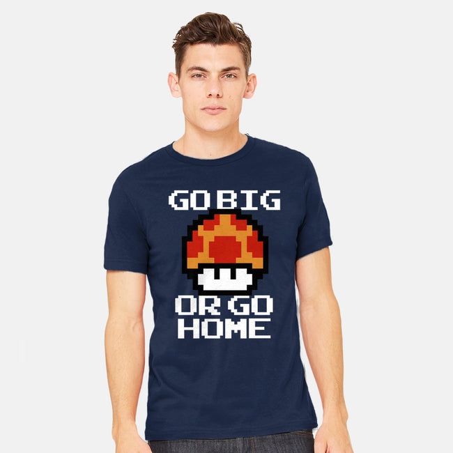 Go Big!-mens heavyweight tee--Shiron-