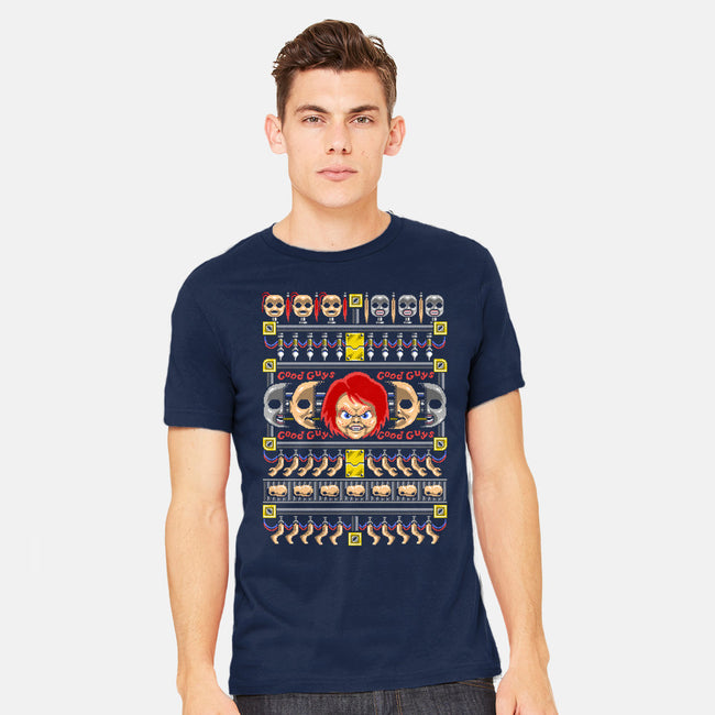 Good Guy, Ugly Sweater-mens heavyweight tee-Punksthetic