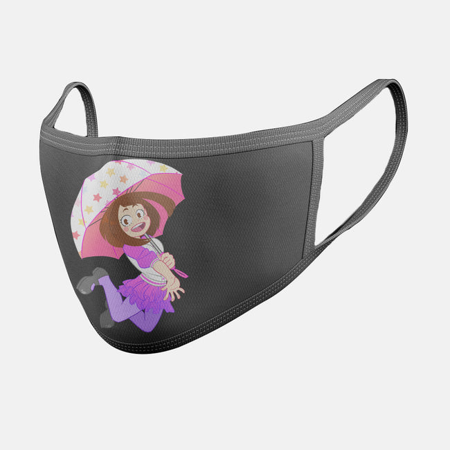 Gravity Hero-unisex basic face mask-Nerdy Mandy