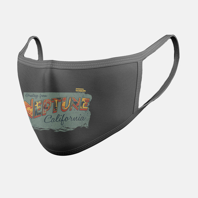 Greetings from Neptune-unisex basic face mask-OneShoeOff