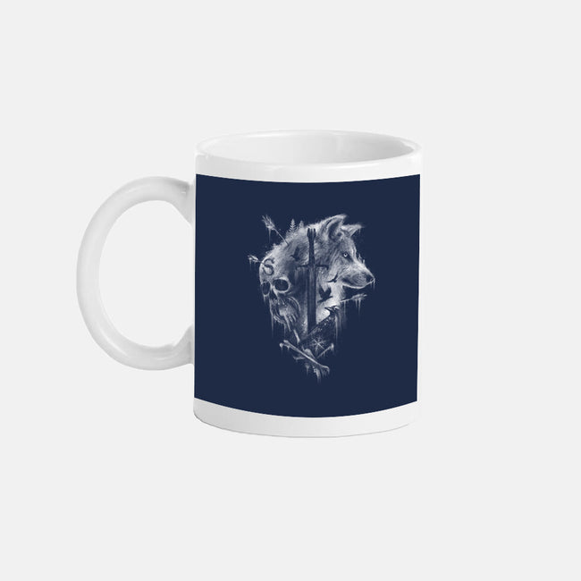 Grim Winter-none glossy mug-ManuelDA