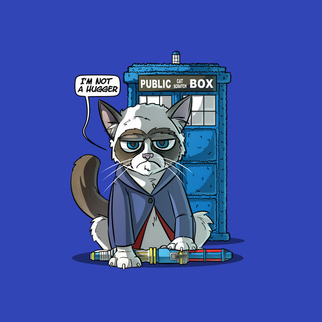 Grumpy Doctor Cat-none stretched canvas-Ericfmatos