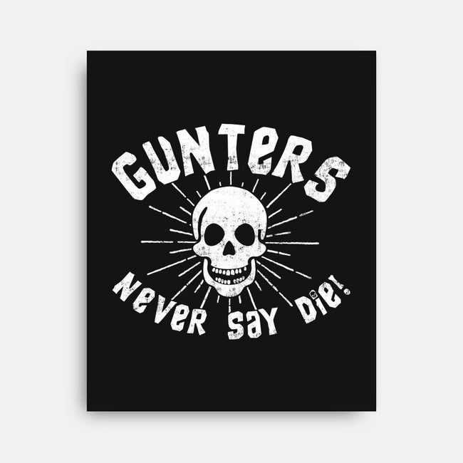Gunters-none stretched canvas-machmigo