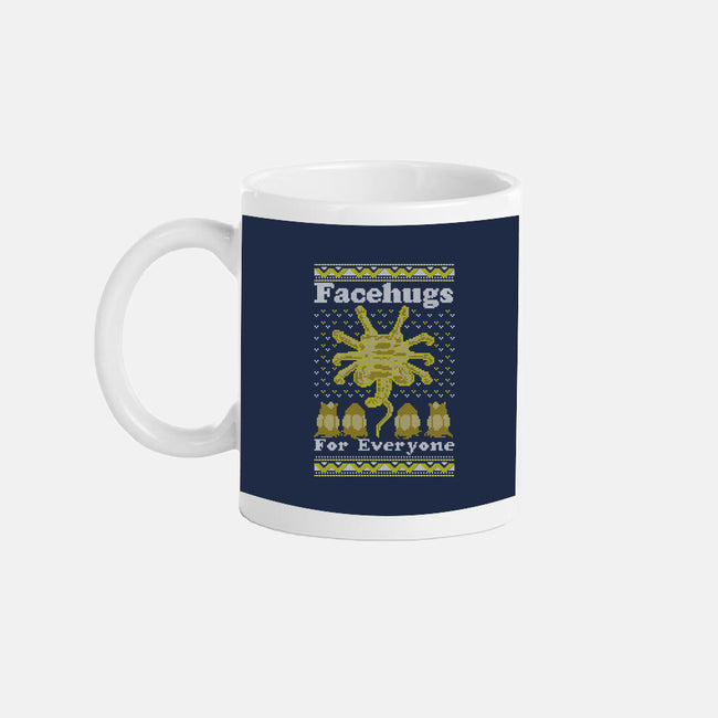Face Hugs For Everyone-none glossy mug-maped