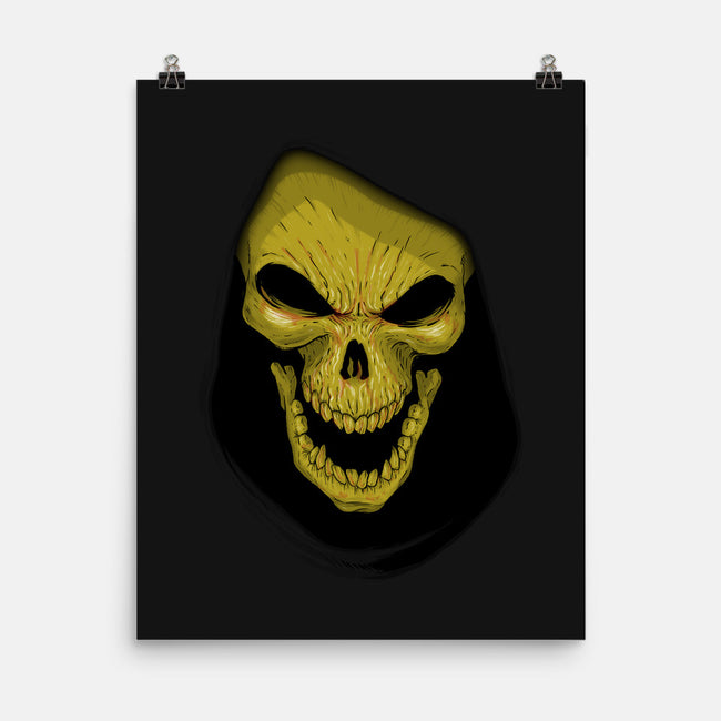 Face of Evil-none matte poster-Skullpy