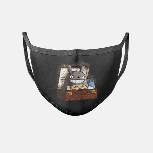 Fantastic Forest Spirits-unisex basic face mask-TonyCenteno