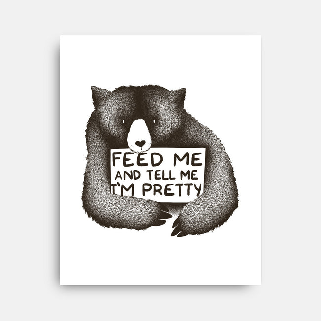 Feed Me-none stretched canvas-tobefonseca