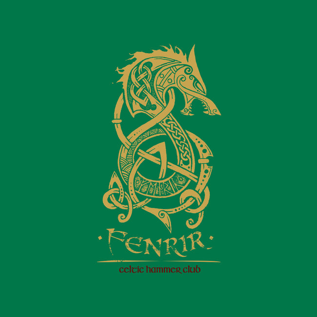 Fenrir-none glossy sticker-celtichammerclub