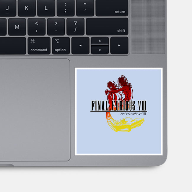 Final Furious VIII-none glossy sticker-Punksthetic