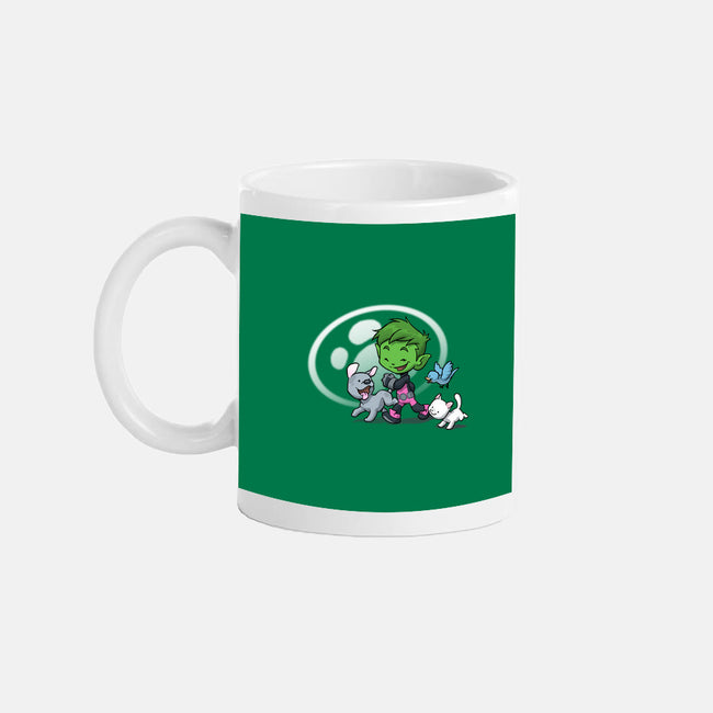 Fine Wild Friends-none glossy mug-DoOomcat