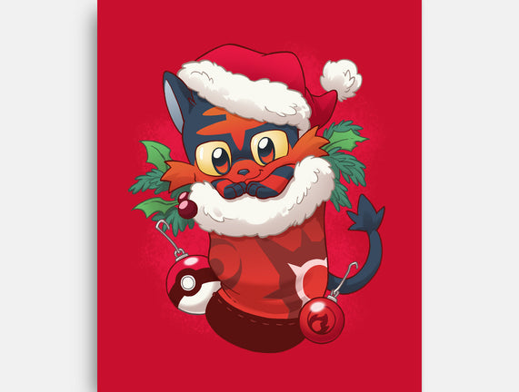 Fire Cat Stocking Stuffer