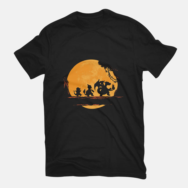 Fire Moonwalk-mens heavyweight tee-dalethesk8er