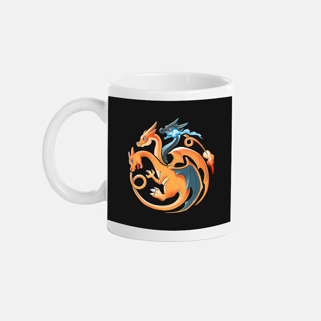 Fire, Flying and Dragon-none glossy mug-alemaglia