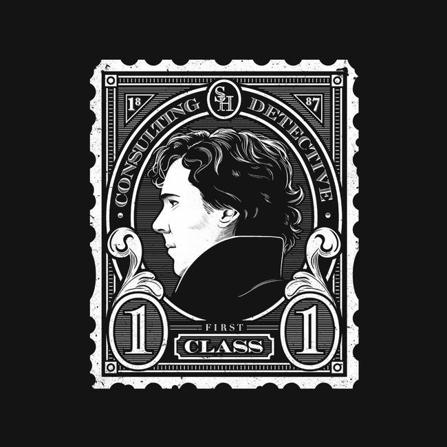 First Class Consulting Detective-none glossy sticker-owlhaus