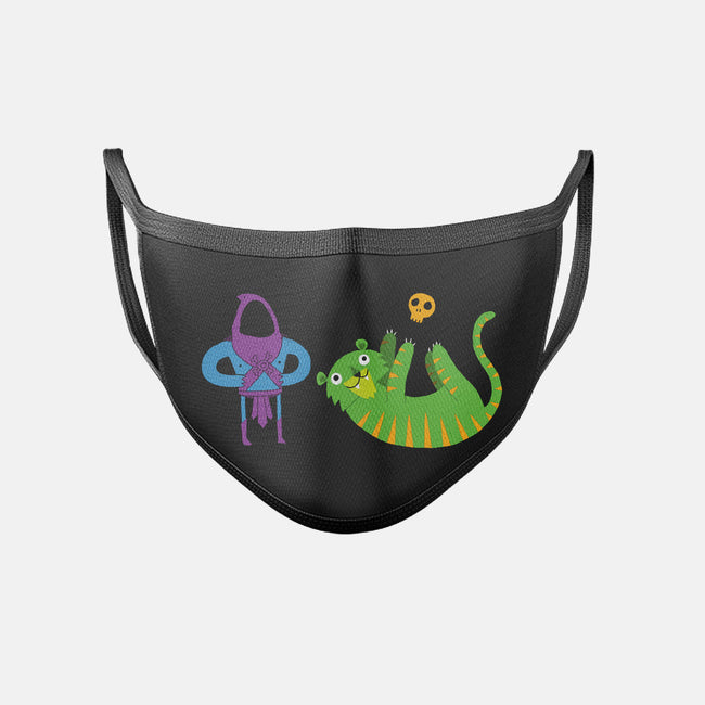 Foiled Again-unisex basic face mask-DinoMike