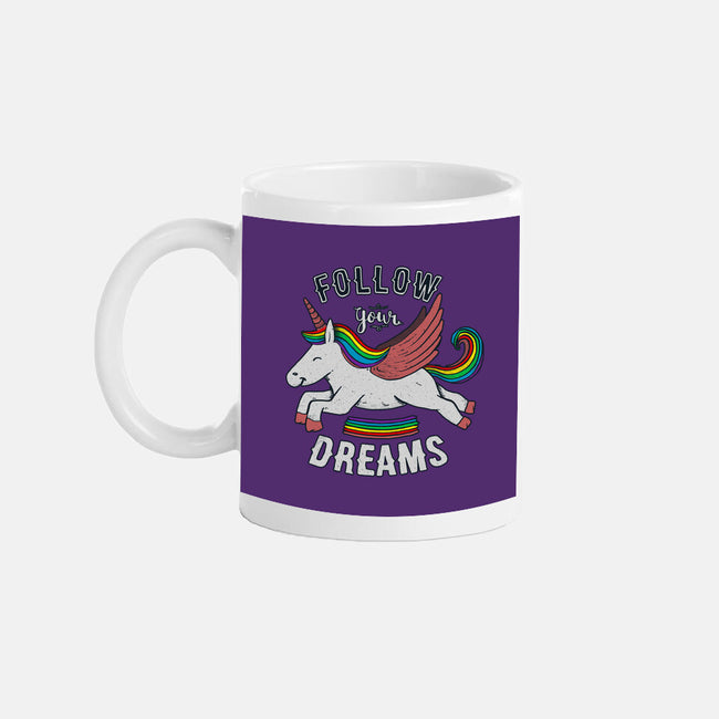 Follow Your Dreams-none glossy mug-tobefonseca