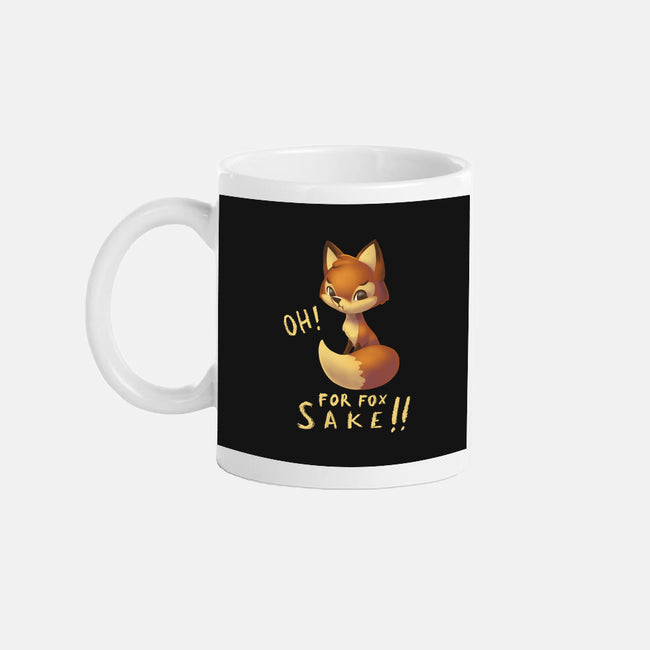 For Fox Sake!-none glossy mug-BlancaVidal
