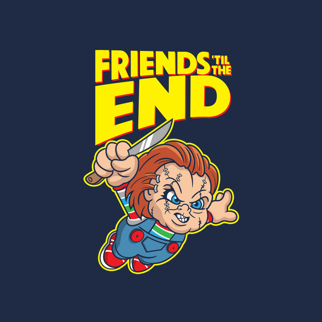 Friends 'Til The End-mens long sleeved tee-DeepFriedArt