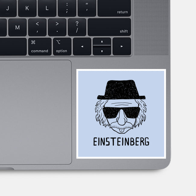 Einsteinberg-none glossy sticker-Bohdan Bykon