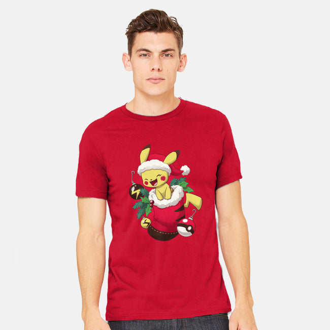 Electric Stocking Stuffer-mens heavyweight tee-DoOomcat