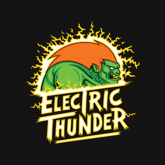 Electric Thunder-none stretched canvas-stationjack