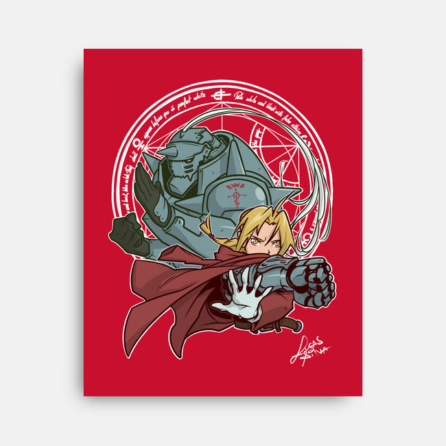 Elric Brothers-none stretched canvas-lucassilva