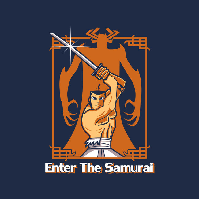Enter the Samurai-mens heavyweight tee-Boggs Nicolas