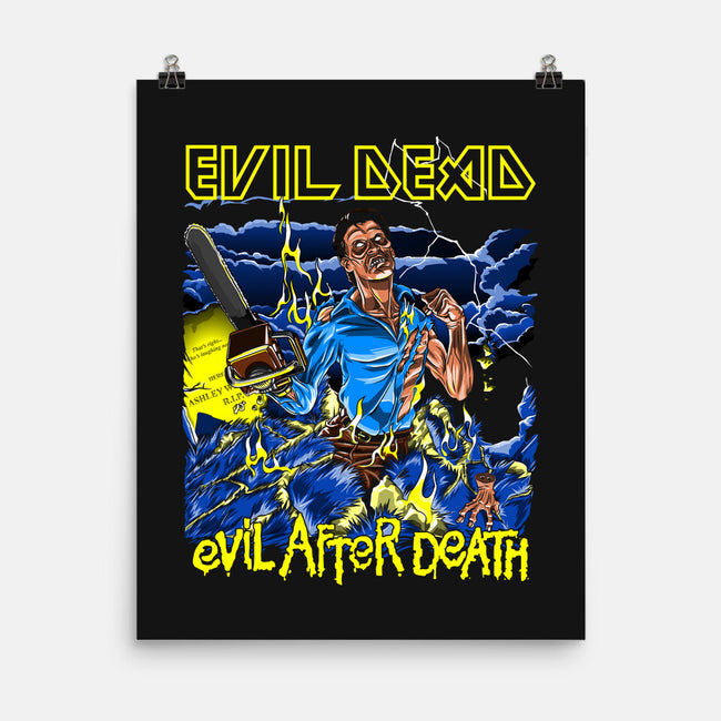 Evil After Death-none matte poster-boltfromtheblue