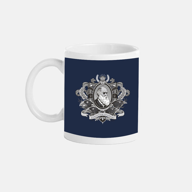 Evolution Academy-none glossy mug-dv8sheepn