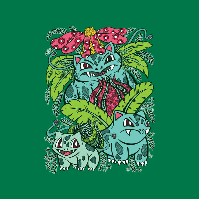 Evolution of a Grass Type-mens basic tee-OfficeInk