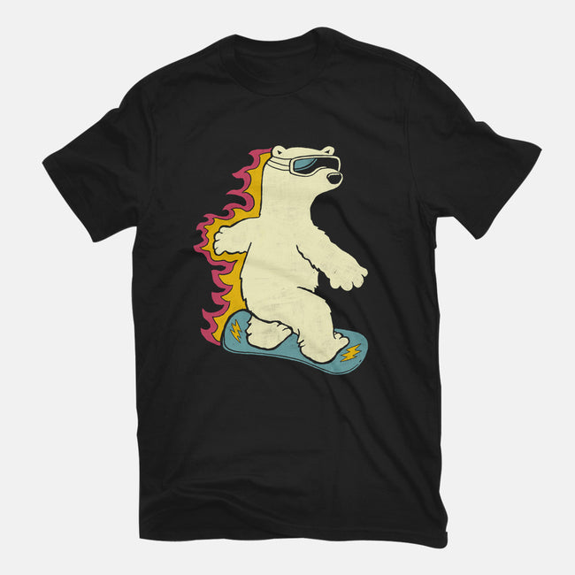 Extreme Sporty Bear-mens heavyweight tee-gloopz