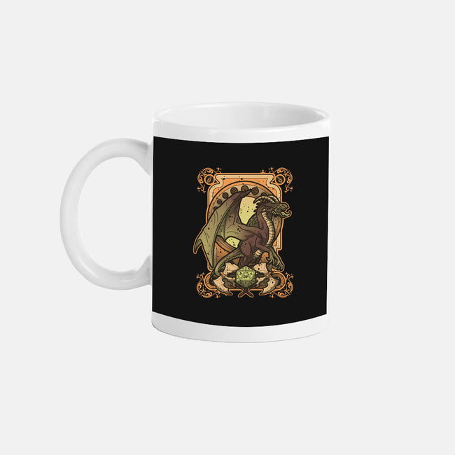 Dark Dragon-none glossy mug-Letter_Q