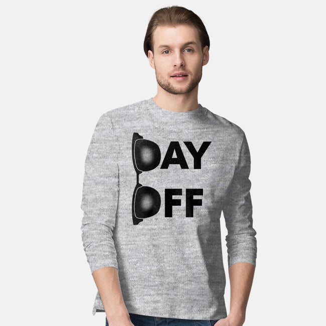 Day Off-mens long sleeved tee-ntesign
