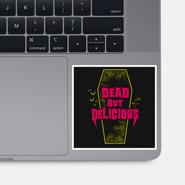 Dead but Delicious-none glossy sticker-Nemons