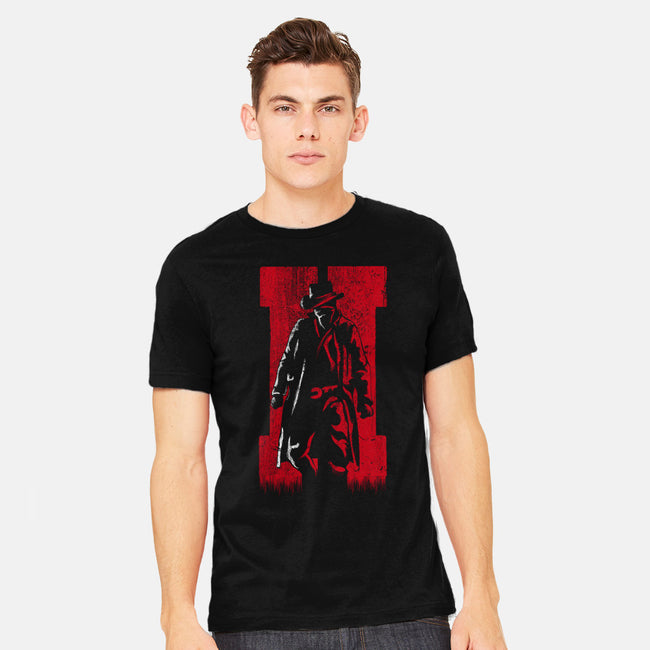 Dead Man Walking-mens heavyweight tee-jamesbattershill