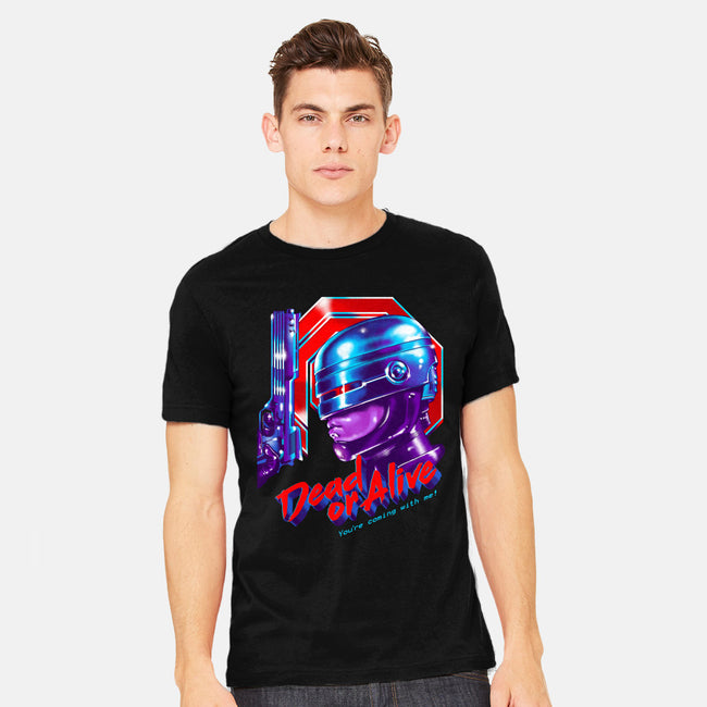 Dead or Alive-mens heavyweight tee-zerobriant