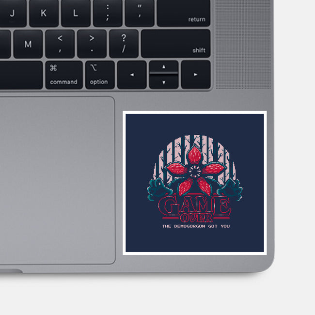 Demogorgon Got You-none glossy sticker-The Grilled Bacon