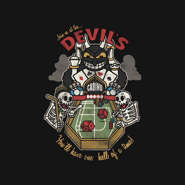 Devil's Casino-mens heavyweight tee-Beware_1984