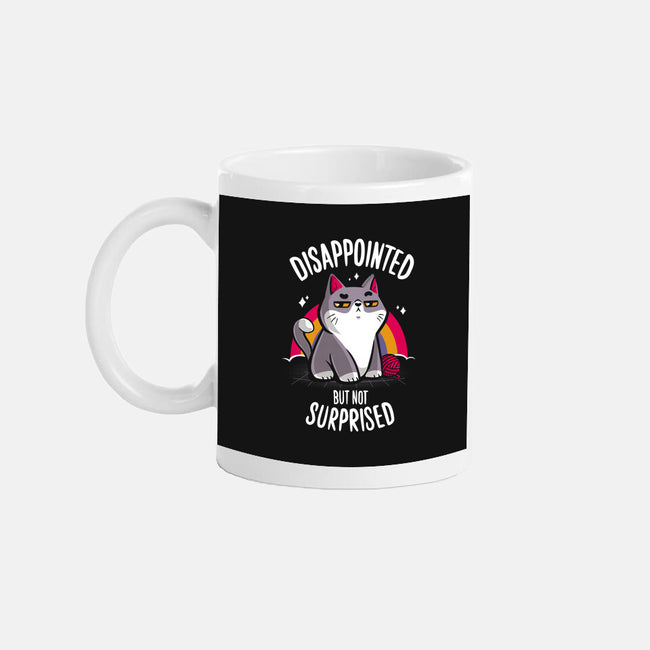 Disappointed but not Surprised-none glossy mug-typhoonic