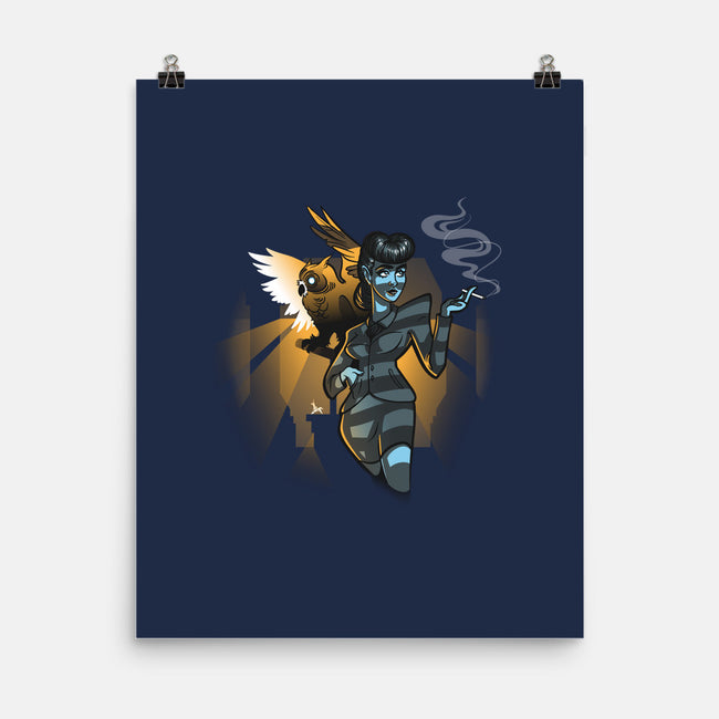 Do You Like Our Owl?-none matte poster-aflagg