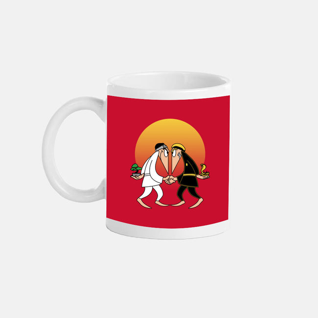 Dojo vs Dojo-none glossy mug-ntesign