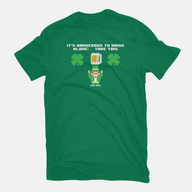 Don't Drink Alone-mens heavyweight tee-jrberger